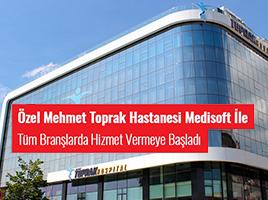 istanbul mehmet toprak hastanesi medisoft kullanıyor