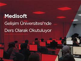 Medisoft  Gelişim Üniversitesi'nde  Ders Olarak Okutuluyor