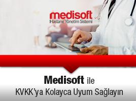 Medisoft ile KVKK'ya Kolayca Uyum Sağlayın