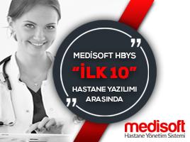 Medisoft HBYS, İlk 10 Hastane Yazılımı Arasında